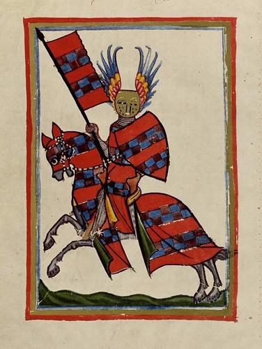 008- Walther von Metze-Codex Manesse