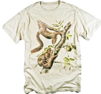 Squirrels in Tree Funny Vintage Graphic Animal T-shirt