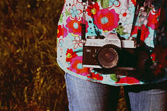 Summer Days ({peace&love}) Tags: camera old flowers lauren film colors grass canon happy sping pinkparis1233 justlauren