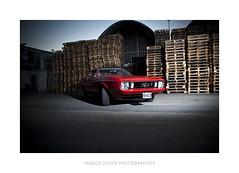 Mustang 2 (FRNCK JULIEN) Tags: lighting street light red horse ford america freedom nikon 70s devil motor mustang d200 woodstock nimes 1973 hazard sb800 strobist sb900