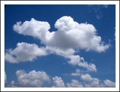 Clouds (kaipukur) Tags: blue white nature beautiful clouds photo amazing group cotton the urvision