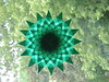 Green Mandala Star Suncatcher...thinking Of Christmas Already