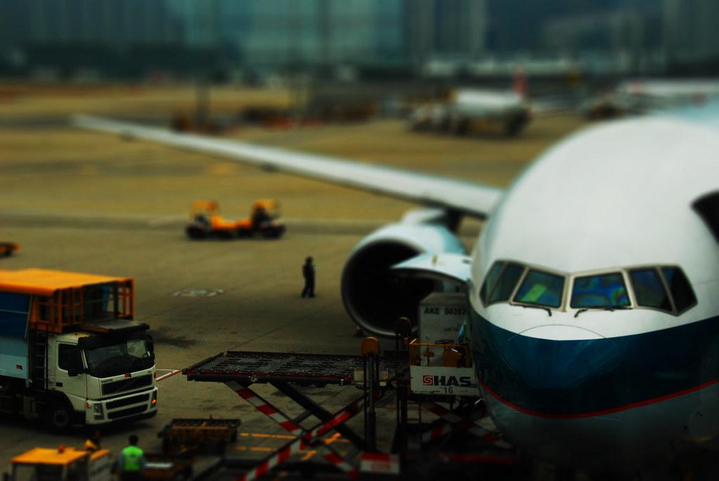 mini hong kong international airport | 2nd experiment