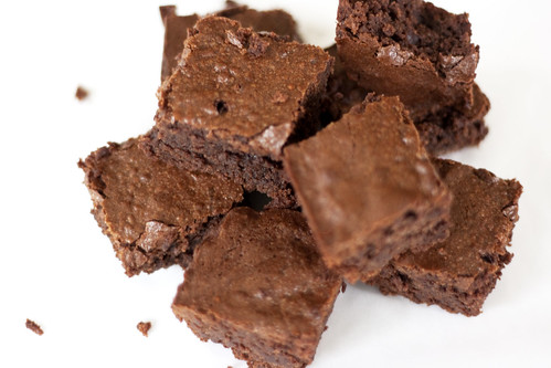 the baked brownie