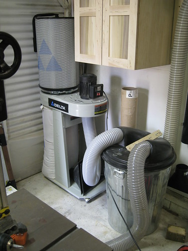 dust collector setup