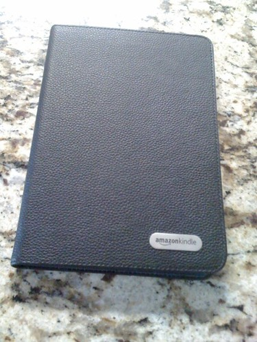 Kindle 2 with case