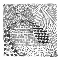 sleeping seed (anndar) Tags: pen pencil drawing seed doodle zentangle