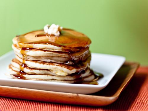 Slow Rise Pancakes