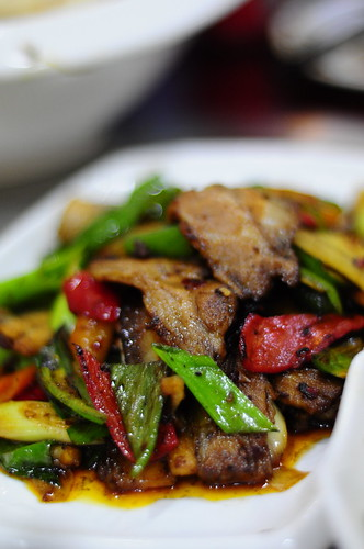 Hui Guo Rou (Twice Cooked Pork) @ Chuan Wang Fu