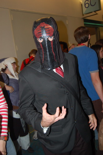 Cobra Commander at Comic Con 09