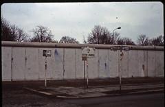 West Berlin - February 1982 - Fin du Secteur Franais - Bernauer Strasse (LimitedExpress) Tags: berlin wall 1982 berlinwall ddr eastberlin mauer berlinermauer ostberlin murdeberlin vopo grenztruppen dividedberlin geteilteberlin berlindivise