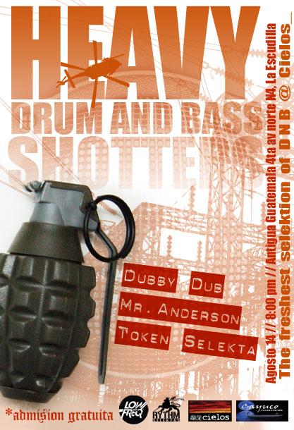Heavy Drum and Bass SHOTTAS 14/08/09 3797619028_f37a7cd45b_o