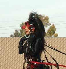Ponygirl in Arizona 2008 (Karen Chessman: In Trans Umbraculis Fetish Luminis) Tags: fetish training photography photos petplay ponygirl ponygirls karenchessman ponyspiele phoenix2008pony