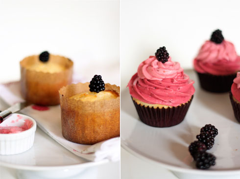 Lemon Berry Cupcakes by Pâtisserie Natalie