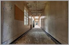 Gateshead Borough Asylum (Mexico75) Tags: england urban abandoned hospital dark nikon empty victorian corridor demolition urbanexploration nhs exploration asylum derelict dereliction behold ue urbex d90 vivacity stmaryslunaticasylum