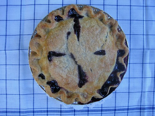 Blueberry Pie From Maine