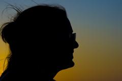 Silhouette (mmphotography.it) Tags: woman silhouette donna profile   canoneos400ddigital profio grantukingphoto