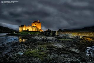 Eilean Donan castle at Dornie, Scotland
