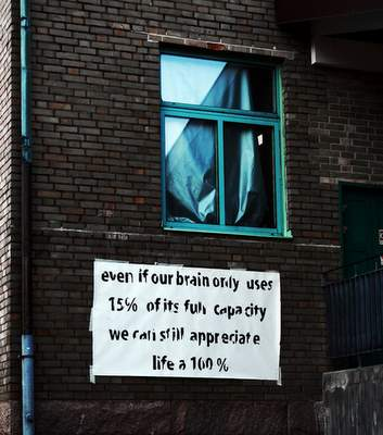 even if our brain