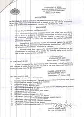 sindh goverment Notification deceased quota. 7-october 2008 (lasi8_08) Tags: school pakistan college sharif student n son wf punjab karachi 2008 sindh asif jia ppp hameed nawaz goverment islamabad deceased orginization notification bhutto balochistan quota octomber mqm nazeer dhoon sadaa banazir zardar