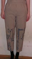 Trousers avec lapins