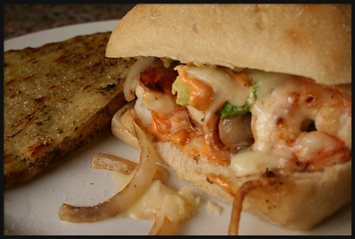 Shrimp Sandwich at A Moveable Feast