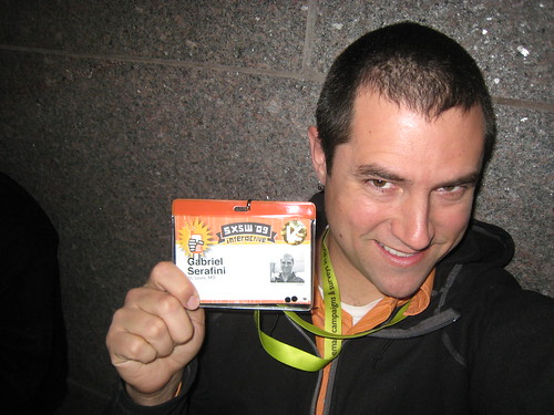 Got the badge! #sxsw