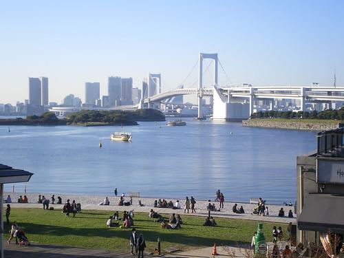 Bahía de Tokyo desde Odaiba