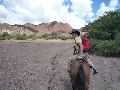 Ben on horseback