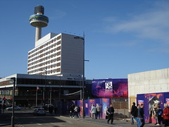(oriolsalvador) Tags: england liverpool perspective holidayinn citycentre limestreet sunnyday towe liverpool08