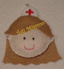 Outra da Enfermeirinha! (Toti Mimmo by Dani Heinemann) Tags: presente chaveiro enfermeira