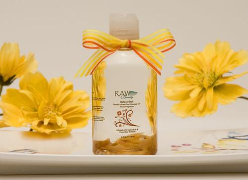 Belle of Bali: Foot Massage Oil Floria Fragrance 4 ounces