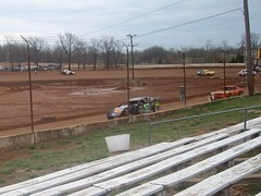 West Siloam Speedway 3-21-09 (proudnamvet........Patriot Guard Riders) Tags: cars race track dirt speedway