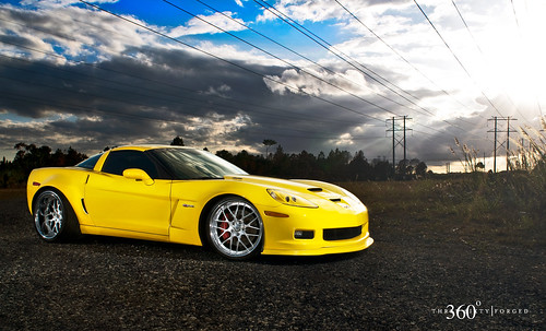 Corvette Z06. WideBody Corvette Z06 on 360