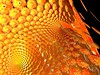 orange (fdecomite) Tags: orange circle spiral packing slice math inversion doyle mobius povray