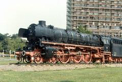 Braunschweig - Class 01 Steam Locomotive (roger4336) Tags: railroad station train germany deutschland bahnhof db hauptbahnhof 01 1989 bahn braunschweig dampflok steamlocomotive niedersachsen baureihe br01 lovomotive
