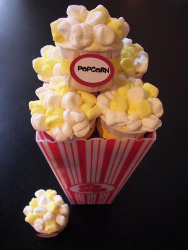 Duncan's Mini Popcorn Cupcakes