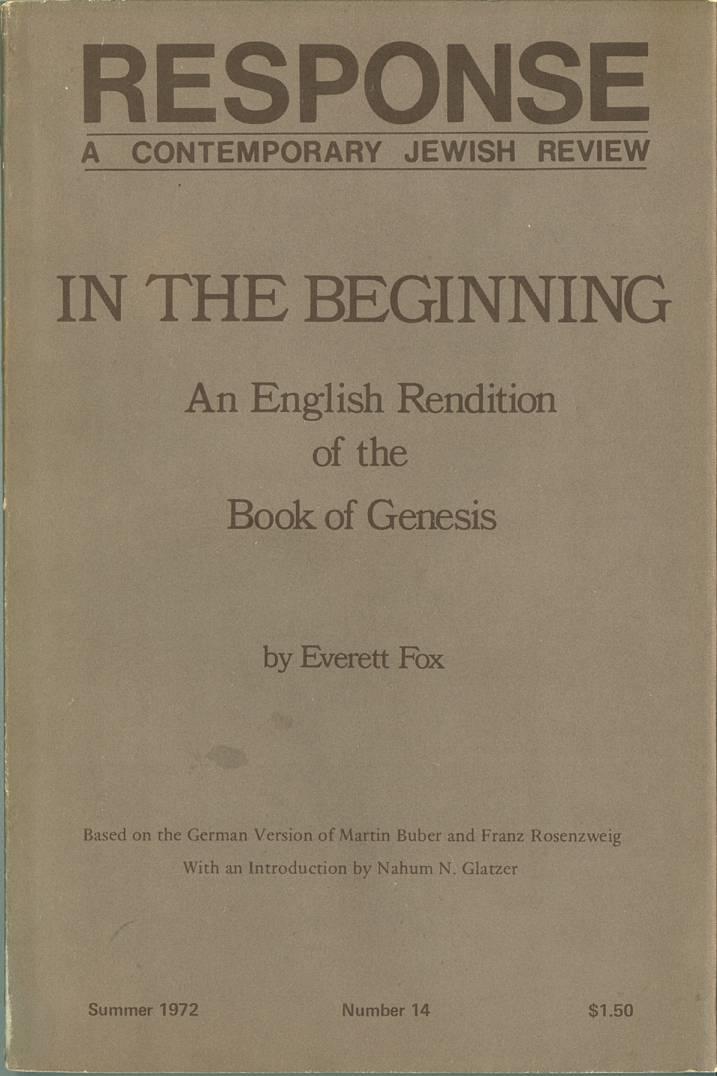 Everett Fox   Internet Bible Catalog