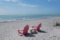 Beach chairs (Robert Dennis Photography) Tags: beach island chairs florida adirondack captiva