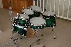 Taye StudioMaple in Green Black Burst