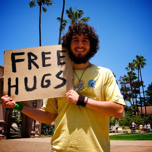About something: Free Hugs