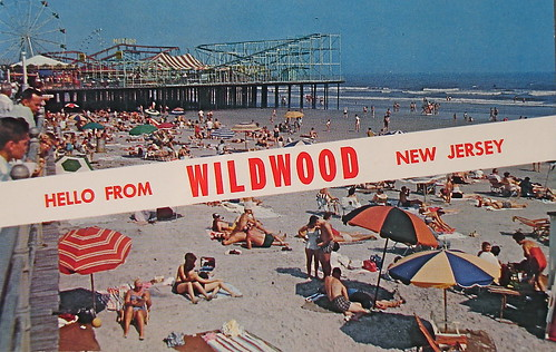 Wildwood New Jersey. Hello from Wildwood, NJ