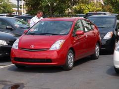 Toyota Prius 2009 car lot shot