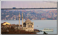 Mecidiye Mosque & Bosporus Bridge (Yavuz Alper) Tags: istanbul sultan sufi hdr yahya mosques marmara camii bosporus mevlevi ortakoy beşiktaş dergah süleyman bogazkoprusu kanuni yahyaefendi bosporusbridge mecidiyecami sütkardeş istanbulcamiileri