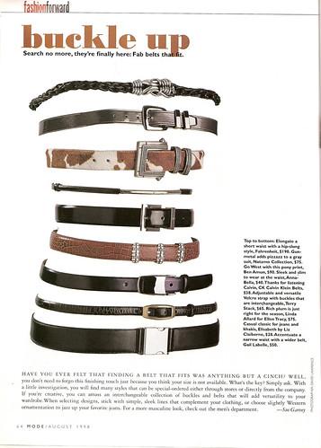 MODE Magazine, August 1998