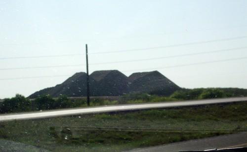 pyramids of dirt