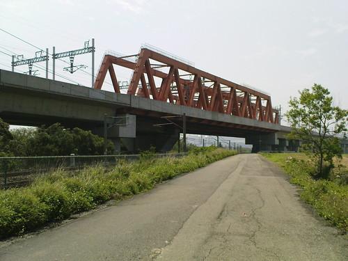 高鐵和台鐵的重疊