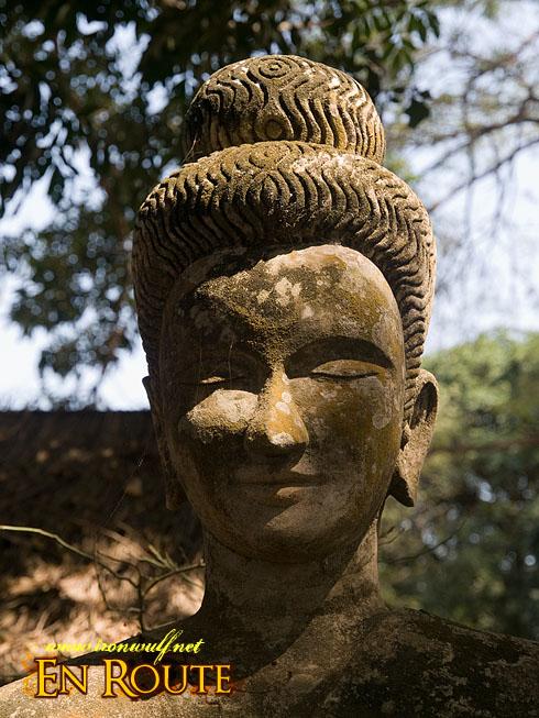 Xieng Khuan Buddha Park Portrait Detail