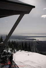 grouse mountain (BCOL CCCP) Tags: ocean mountain canada vancouver bc view awesome great grouse taken best well cccp 2010 bcol