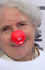 Red nose? Funny story or sad?